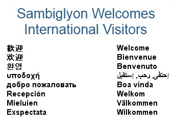 Sambiglyon international message of welcome